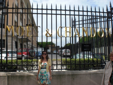 Moet et Chandon Champagne House