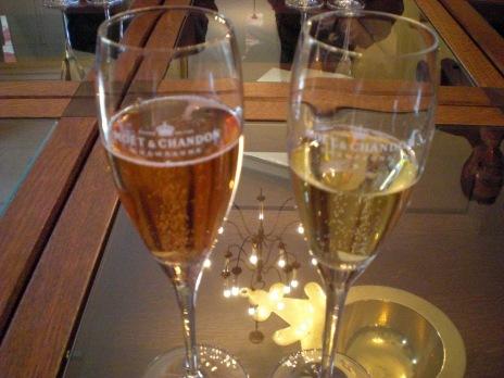 Champagne at Moet et Chandon