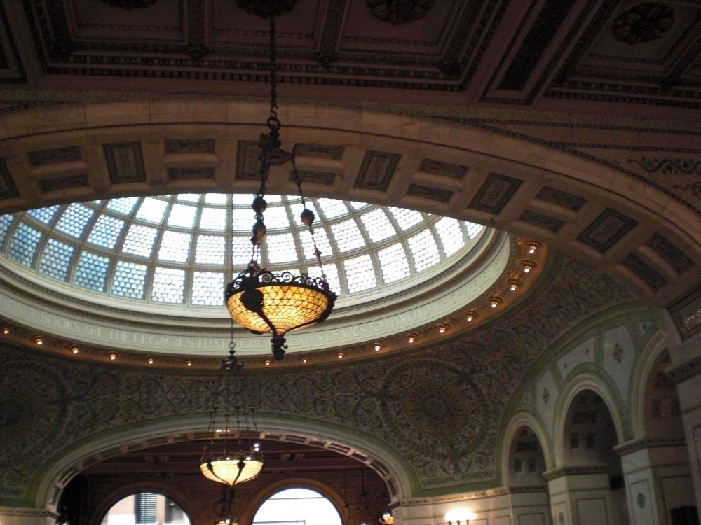 Inside the Chicago Cultural Center