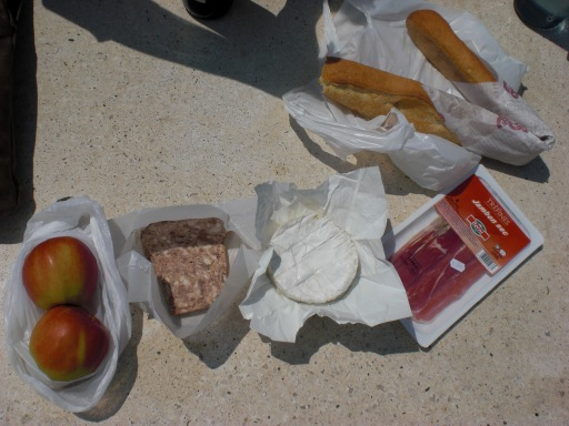 French picnic in Champagne