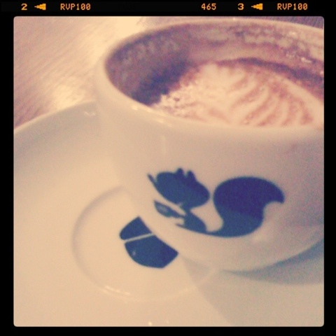 cappuccino at Manic on College
