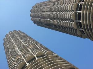 Chicago Illinois corn cob buildings