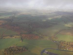 Gliding over South England