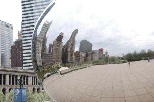 Millennium Park Chicago Cloud Gate the Bean