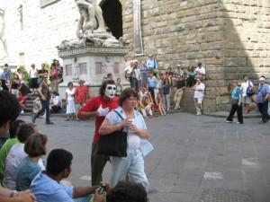 Il Mimo Grey in Florence Firenze Italy Italia Uffizi