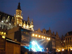 Jammin at the Brussels Jazz Festival