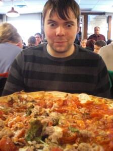 Pizza at Grimaldi's