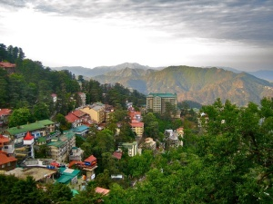 Himachal Pradesh, at the foot of the Himalayas
