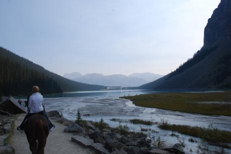 Horseback Riding at Lake Louise Alberta