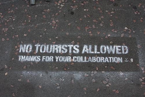 Anti-tourist sentiments