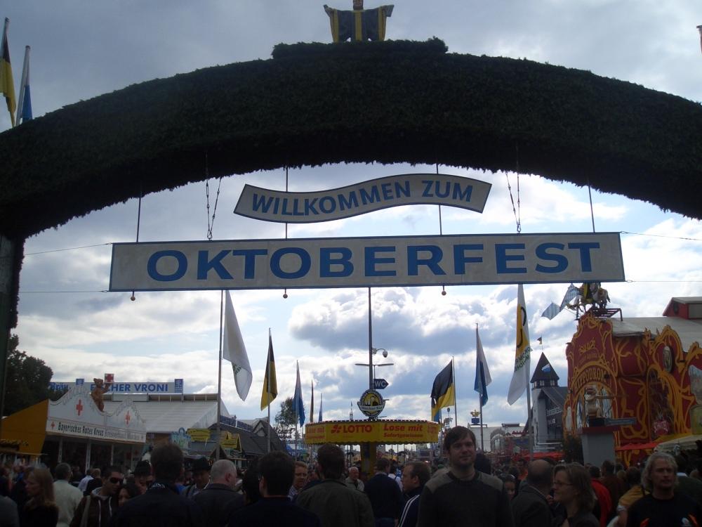 Oktoberfest welcome