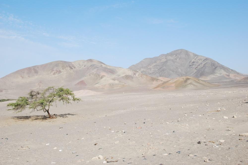 Nasca desert, Peru