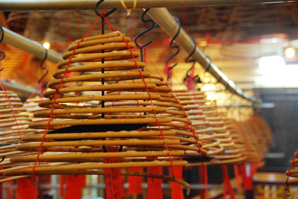 Man Mo Temple Hong Kong Incense