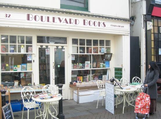 Thai Food in a Bookshop in Hastings