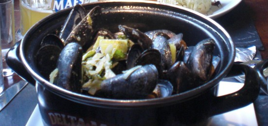 Mussels are a favourite of mine