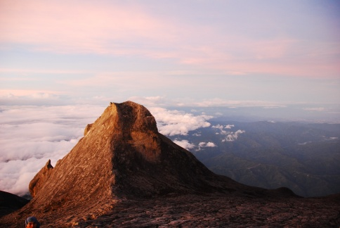 Sunrise on Mt Kinabalu Malaysia