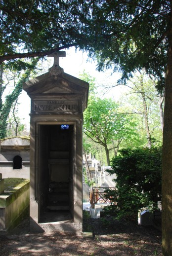 Tomb at Pere Lachaise Cemetery