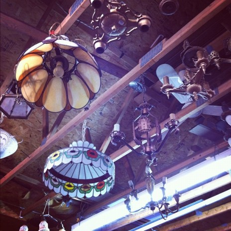 Antique Lamps at Michel Prince