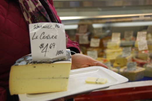Cheese in ByWard Market Ottawa