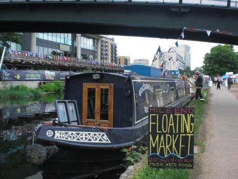 London Floating Market in Hackney Wick