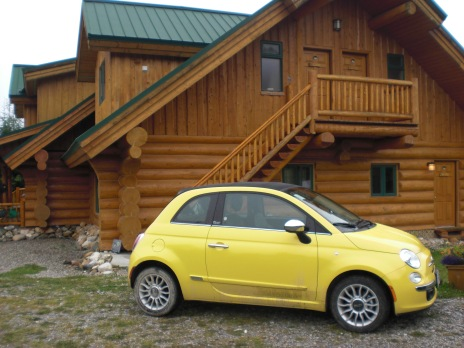 BC Alberta road trip Fiat 500