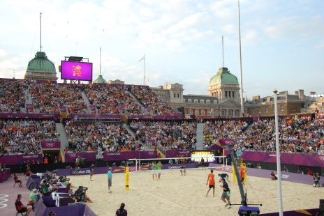 London 2012 Beach Volleyball Horse Guards Parade