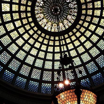 chicago tiffany dome